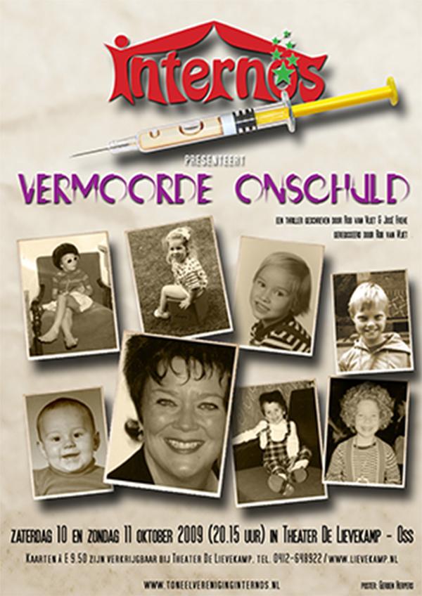 2009 Poster Vermoorde onschuld