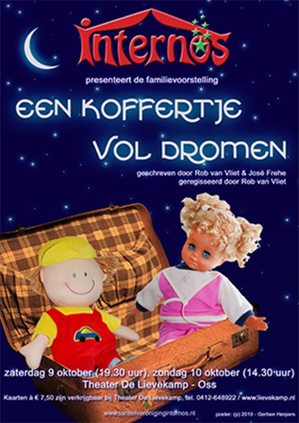 2010 Poster Een koffertje vol dromen