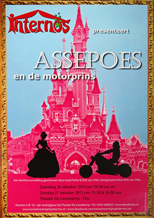 2013 Poster Assepoes en de motorprins
