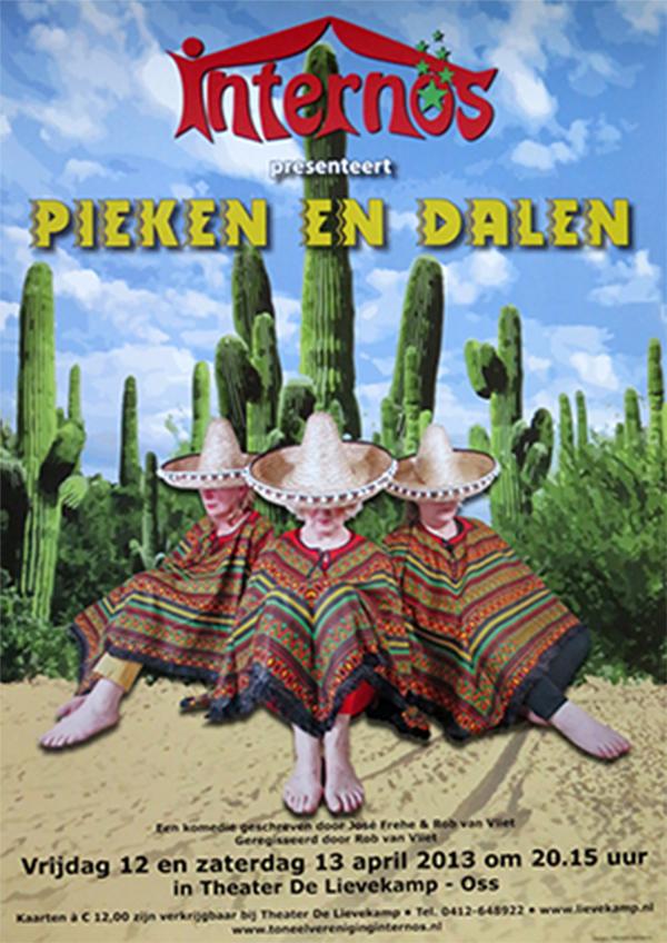 2013 Poster Pieken en Dalen