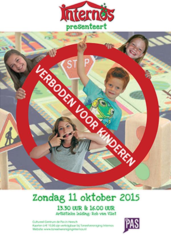 2015 Poster Verboden voor kinderen